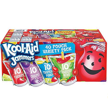Kool-Aid Jammers Variety Pack (6oz / 40pk)