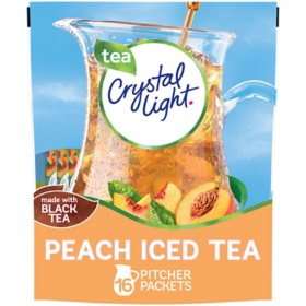 Crystal Light Peach Iced Tea Powdered Drink Mix (4.55 oz.)