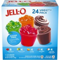 Jello-O Sugar-Free Gelatin and Pudding Cups Variety Pack (79 oz., 24 ct.)