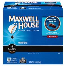 Maxwell House Original Roast, Medium K-Cups (108 ct.)