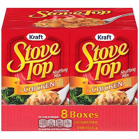 Kraft Stove Top Chicken Stuffing Mix (48 oz., 8 pk.)