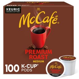 McCafe Premium Roast K-Cup Coffee Pods (100 ct.)