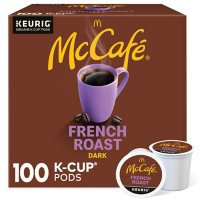 100-Count McCafe French Roast K-Cup Coffee Pods