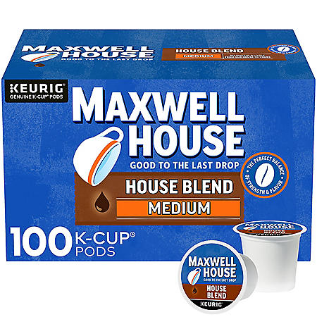 Maxwell House House Blend K-Cup Coffee Pods (100 ct.)