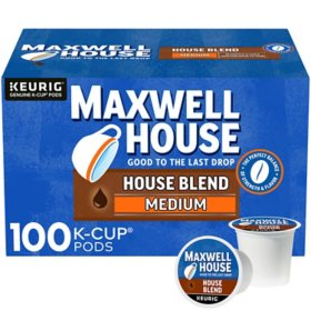 Maxwell House, House Blend Coffee K-Cups (100 ct.)