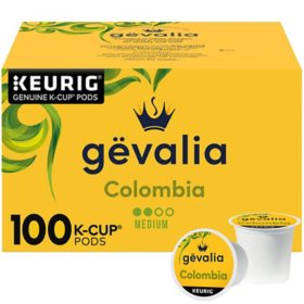 Gevalia Colombian Coffee K-Cup Pods (34.5 oz., 100 ct.)