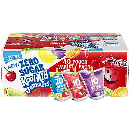 Kool-Aid Jammers Variety Pack (40 ct.)