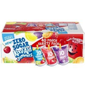 Kool-Aid Jammers Zero Sugar (6oz / 40pk)