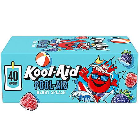 Kool-Aid Pool-Aid Berry Splash Artificially Flavored Soft Drink (6 fl. oz., 40 pk.)