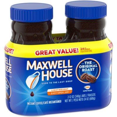 Maxwell House Original Roast Instant Coffee 12 Oz 2 Pk