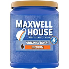 Maxwell House Original Roast Ground Coffee (48 oz.)