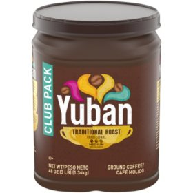 Yuban Ground Coffee, Traditional Roast (48 oz.)
