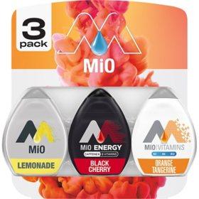 MiO Variety Pack (1.62 oz., 3 pk.)