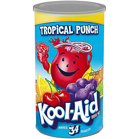 Kool-Aid Sweetened Tropical Punch Powdered Drink Mix (82.5 oz.)