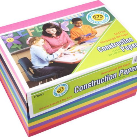 Mead Multi-Color Construction Paper - 672 sheets