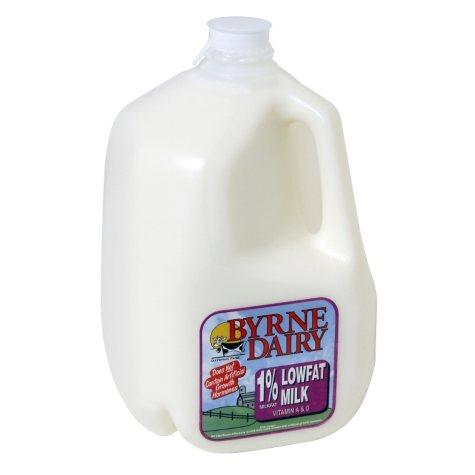 Byrne Dairy 1% Lowfat Milk  (1 gal.)