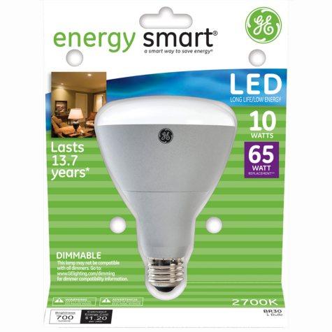GE 10 Watt BR30 Energy Smart LED Indoor Flood Light