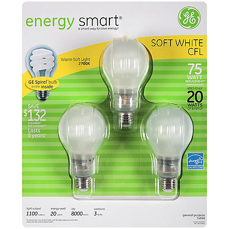 GE CFL Lightbulbs