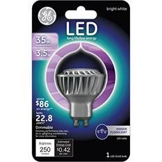 3-Pack GE LED 4 Watt GU10 Bright White Indoor Floodlight
