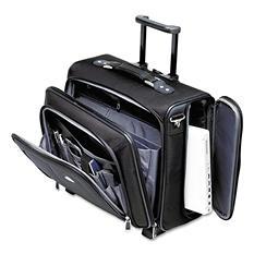 Samsonite Side Loader Office Laptop Case, Nylon, Black