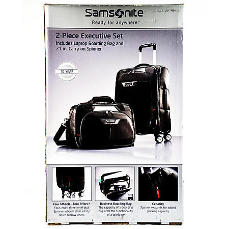 "2 PIECE LUGGAGE SET 21"" CARRY-ON"