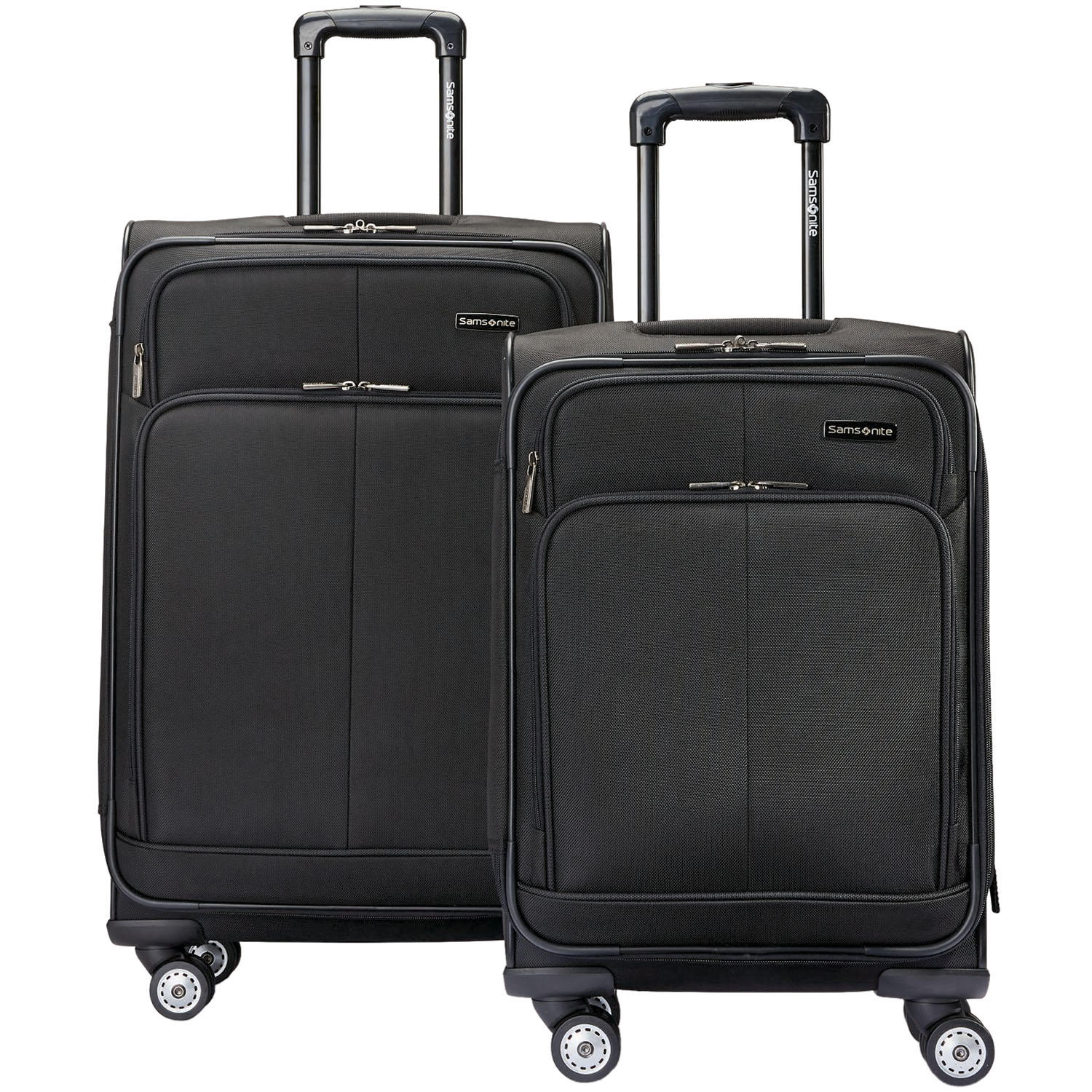 Samsonite Versatility 2-Piece Luggage Set (Black Or Blue)