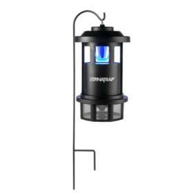 DynaTrap Insect and Mosquito Trap, ATRAKTAGLO Series - 3/4 Acre with Shepherd's Hook