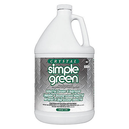 Crystal Simple Green Industrial Cleaner and Degreaser (128 oz.)
