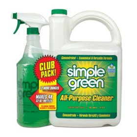 Simple Green All-Purpose Cleaner (140 oz. Refill + 32 oz. Trigger Spray)