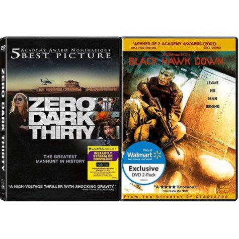 Zero Dark Thirty / Black Hawk Down (DVD) (2-Pack) (Exclusive)