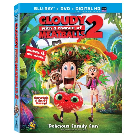 Cloudy With A Chance Of Meatballs 2 (2 Discs): (Blu-ray/DVD/UltraViolet)
