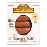 Roger Wood Lumber Jack Smoked Sausage (4 lbs.)