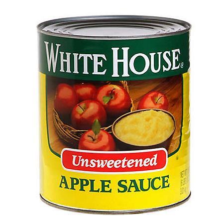 White House Unsweetened Apple Sauce (106 oz.)