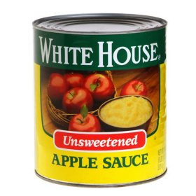 White House Unsweetened Apple Sauce (106 oz.)