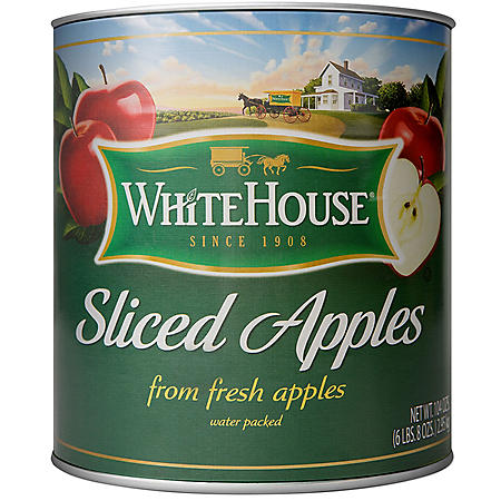 White House Sliced Apples (104 oz.)