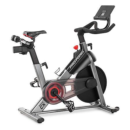 ProForm Sport CX Stationary Exercise Bike with 3-Lb. Dumbbells