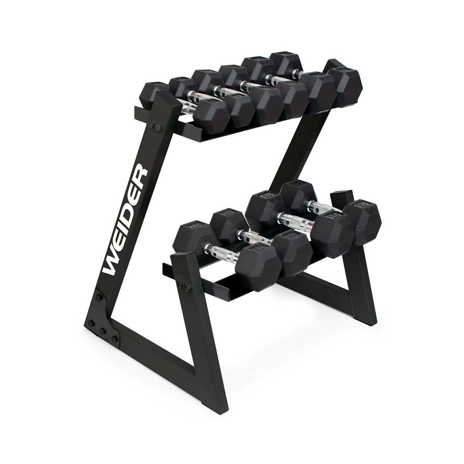 ProForm Weider Dumbbell Set and Rack