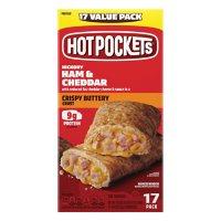Hot Pockets Ham & Cheddar Stuffed Sandwiches, Frozen (17 ct.)