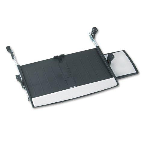 Fellowes - Deluxe Keyboard Drawer, 20-1/2w x 11-1/8d -  Black