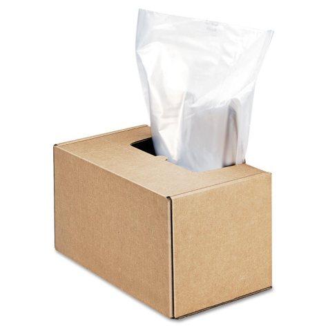 Fellowes - Powershred Shredder Waste Bags, 50 gal Capacity -  50/CT