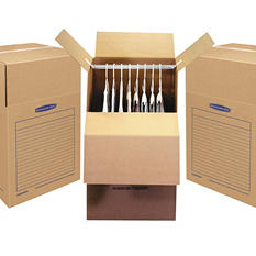 "Bankers Box SmoothMove Wardrobe Box (24 3/8""W x 24 3/8""D x 40 1/4""H, 3/Carton)"