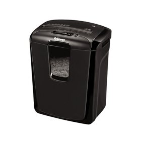 Fellowes Powershred 49C Light-Duty Cross-Cut Shredder, 8 Sheet Capacity