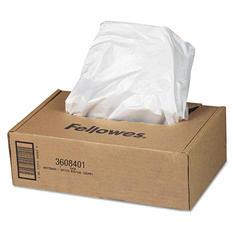 Fellowes - AutoMax Shredder Waste Bags, 16-20 gal -  50/CT