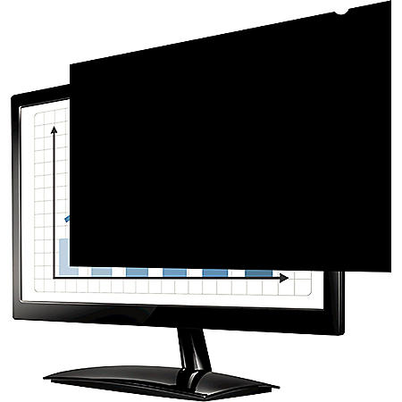 """Fellowes - PrivaScreen Blackout Privacy Filter for 20"""" Widescreen LCD/Notebook -  16:9"""