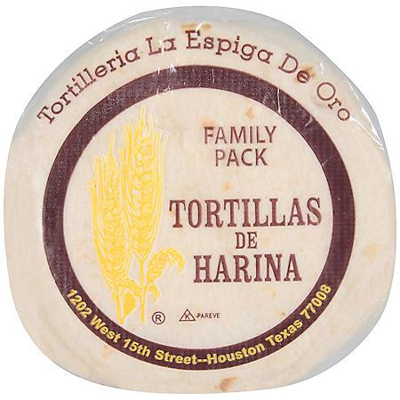 La Espiga De Oro Flour Tortillas (7.33oz / 3pk)