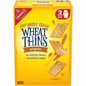 Wheat Thins Original Whole Grain Wheat Crackers (40 oz.)