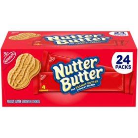 Nutter Butter Peanut Butter Sandwich Cookies (4 per pk., 24 pk.)