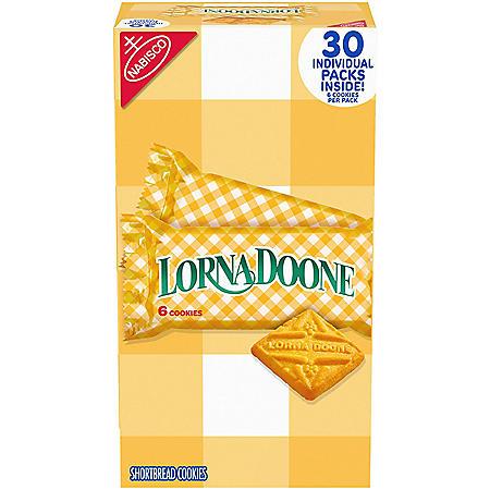 Lorna Doone Shortbread Cookies (6 per pk., 30 pk.)