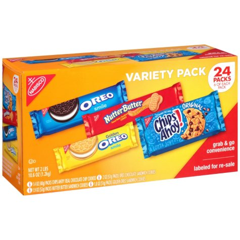 Nabisco Cookie Variety Pack (32.6 oz., 24 ct.)