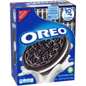 OREO Chocolate Sandwich Cookies (52.5 oz, 10 sleeves)